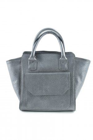 Bolso barrel gris antracita estilo «business»
