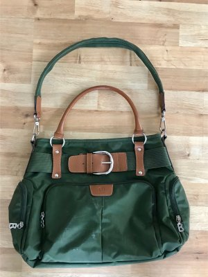 Bogner Carry Bag cognac-coloured-forest green