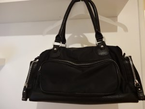Escada Sport Carry Bag black leather