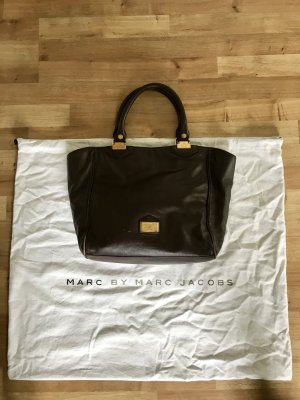 Marc by Marc Jacobs Borsa con manico oro-marrone scuro