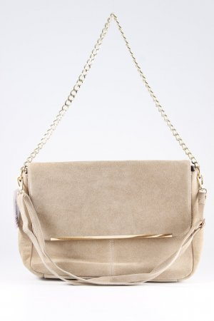 Carry Bag beige-gold-colored casual look