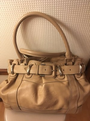 Burberry Carry Bag beige leather