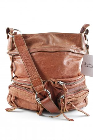 Carry Bag cognac-coloured-brown casual look