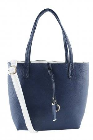 Carry Bag dark blue-natural white casual look