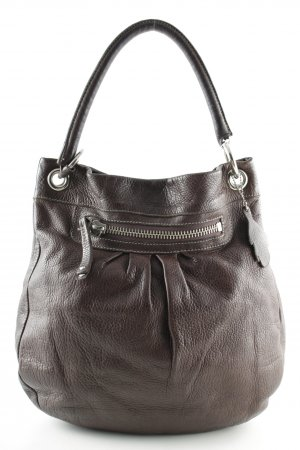 Carry Bag dark brown casual look