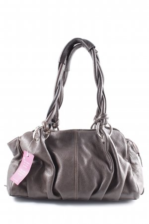 Carry Bag dark brown simple style