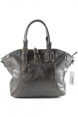 Carry Bag dark brown second hand look