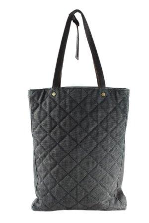 Carry Bag grey-black brown casual look