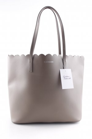 Carry Bag grey brown minimalist style