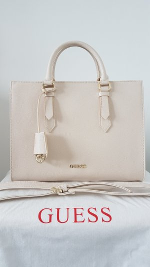 Guess Carry Bag cream polyurethane