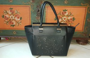H&M Carry Bag black linen