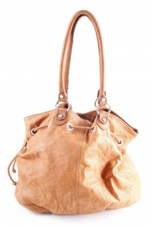 Carry Bag light brown casual look