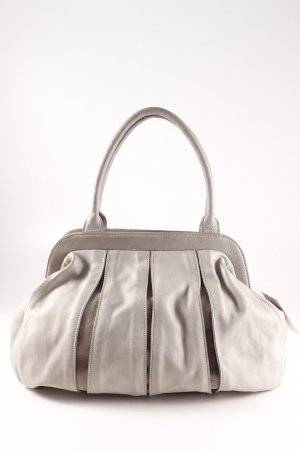 Carry Bag light grey casual look