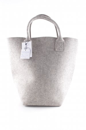 Carry Bag light grey flecked casual look