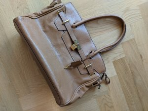 Jake*s Carry Bag cognac-coloured
