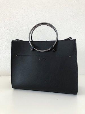 Nakd Shopper black-silver-colored