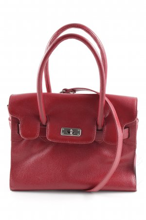 Carry Bag carmine Brit look