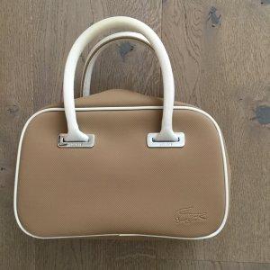 Lacoste Handbag light brown-white