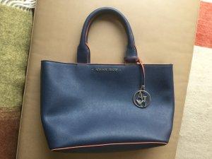 Armani Jeans Borsa con manico arancione-blu