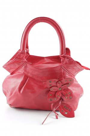 Carry Bag red Embellishment embroidery