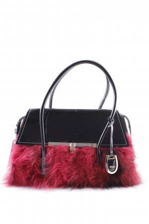 Carry Bag black-blackberry-red extravagant style