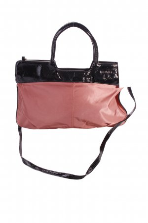Carry Bag black-salmon vintage look