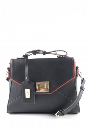 Carry Bag black-red elegant