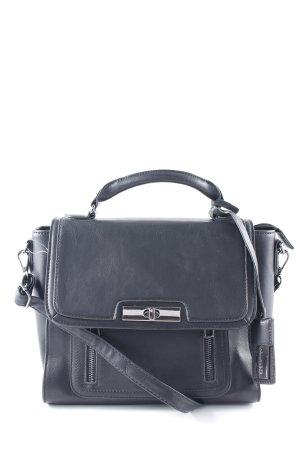 Carry Bag black-silver-colored elegant