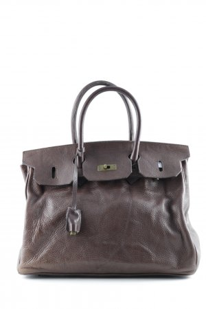 Carry Bag black brown casual look