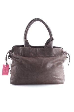 Carry Bag black brown casual look