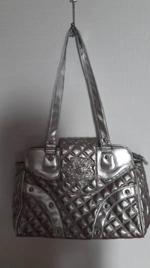 Carry Bag silver-colored