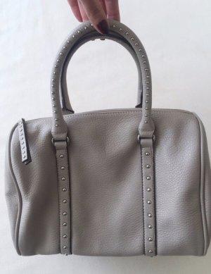 Henkeltasche / Tasche / Bowlingbag grau * Blogger * - einwandfreier Zustand