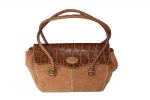 Tod's Carry Bag brown-dark brown leather