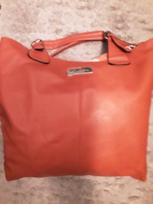 Henkeltasche von Aniston in Orange