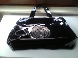 Armani Jeans Carry Bag black