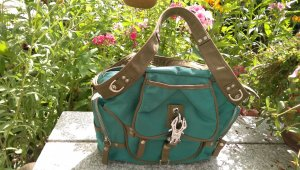 George Gina & Lucy Carry Bag forest green-khaki