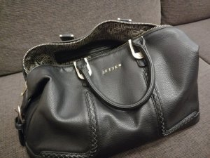 Jette Joop Carry Bag black-gold-colored