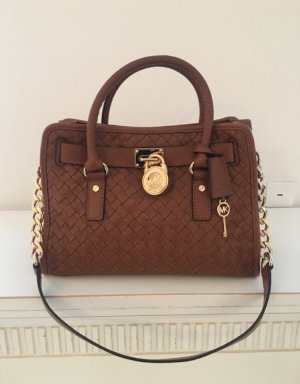 Michael Kors Carry Bag brown-gold-colored