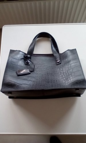 Strenesse Carry Bag black leather