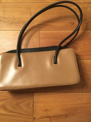 Valentino Carry Bag light brown-black leather