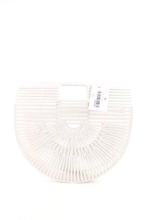 Sac Baril blanc style extravagant