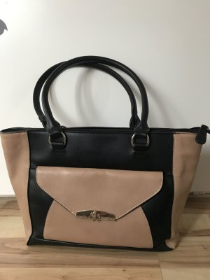 C&A Carry Bag black-beige