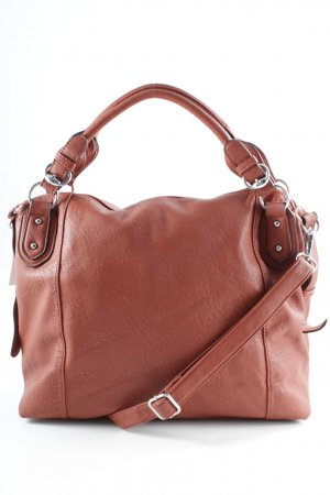 Carry Bag brick red casual look