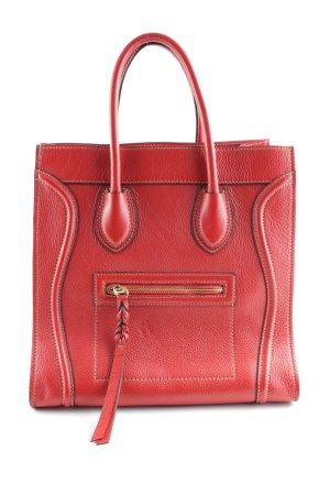 Carry Bag brick red elegant