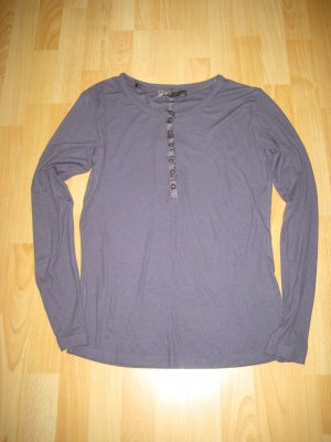 Henley Shirt von Nü by Staff Gr. XL blau