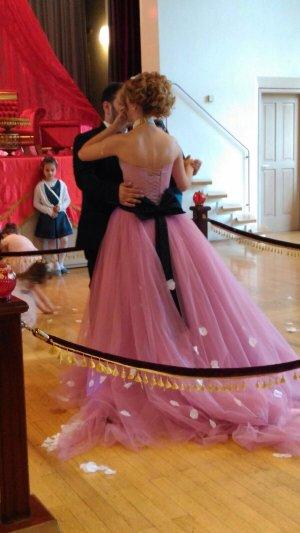 Hennaabendkleid/Verlobungskleid mit Schleife