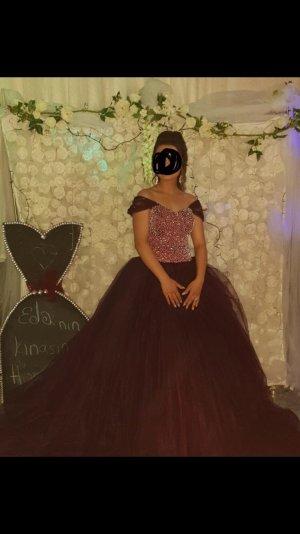 Evening Dress dark violet
