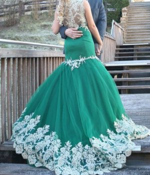 Ball Dress dark green-forest green