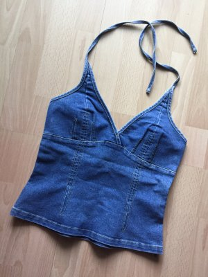 Hennes Collection by H&M Bustier Top cornflower blue-dark blue