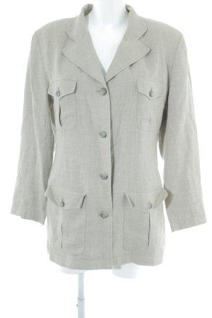 Hennes Collection by H&M Long-Blazer beige-hellbeige meliert Business-Look